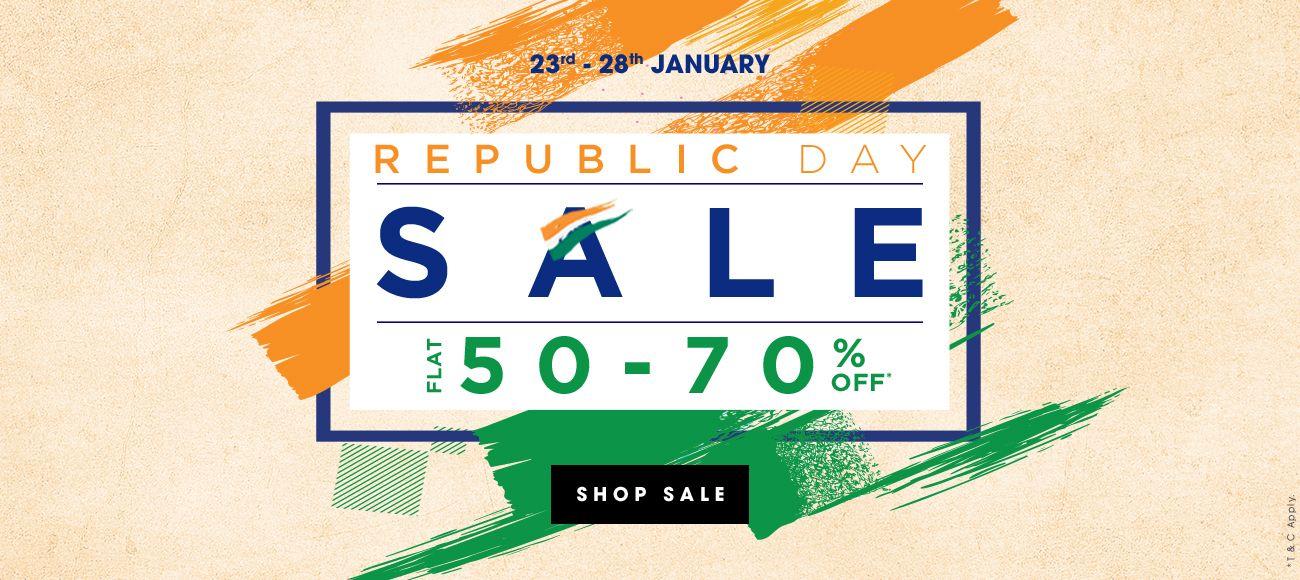 Republic Day Sale