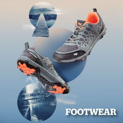 wildcraft shoes and footwear